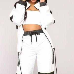 Windbreaker Jacket - White